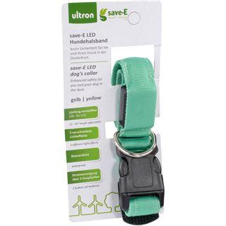 Ultron LED save-E LED Hundehalsband grün
