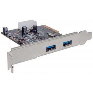 PCI Manhattan 2-Port USB 3.1 2x Typ A