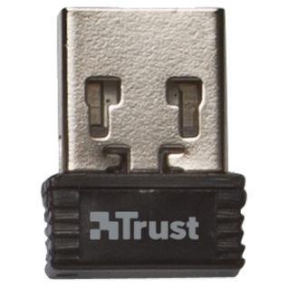 Trust Veza (20961) USB Deutsch schwarz (kabellos)