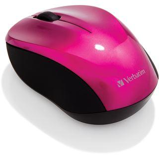 Verbatim Go Nano-Maus USB pink (kabellos)