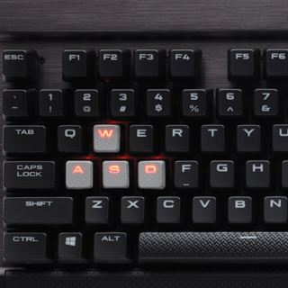 Corsair Gaming K70 RAPIDFIRE CHERRY MX Speed USB Deutsch schwarz (kabelgebunden)