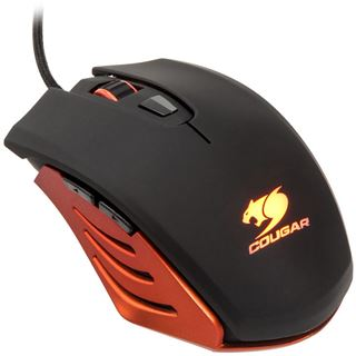 Cougar 200M-O Optical Gaming (CGR-WOSO-200) USB schwarz/orange (kabelgebunden)