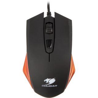 Cougar 200M-O Optical Gaming (CGR-WOSO-200) USB schwarz/orange (kabelgebunden)