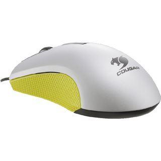 Cougar 230M Optical Gaming USB weiß/gelb (kabelgebunden)