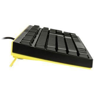 Cougar 300K (37300XNSY.0001) USB Deutsch schwarz/gelb (kabelgebunden)