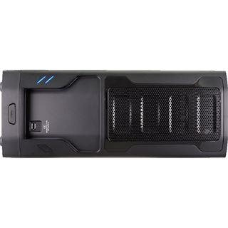 Cougar MX310 mit Sichtfenster Midi Tower ohne Netzteil schwarz
