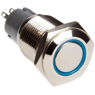 DimasTech Vandalismusschalter/-taster 16mm - Silverline - blau