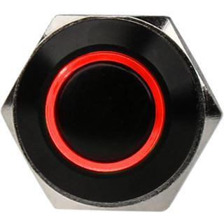 DimasTech Vandalismusschalter/-taster 16mm - Blackline - rot