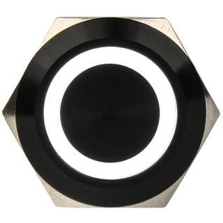 DimasTech Vandalismusschalter/-taster 19mm - Blackline - weiß