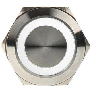 DimasTech Vandalismusschalter/-taster 22mm - Silverline - weiß