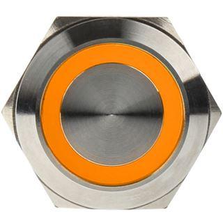 DimasTech Vandalismusschalter/-taster 22mm - Silverline - orange