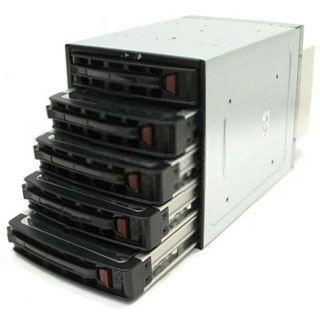 Supermicro CSE-M35TQB Mobile Rack with SES2 (Black)
