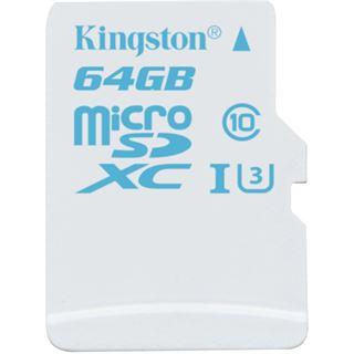 64 GB Kingston Action Camera UHS-I microSDHC Class 10 U3 Retail