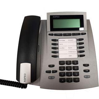 Agfeo ST22 IP Telefon silber