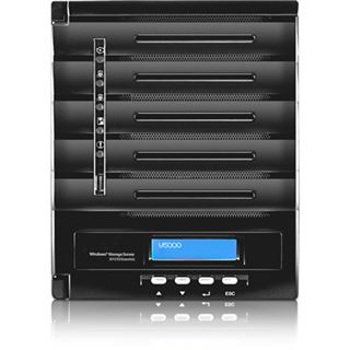 Thecus WindowsStorage W5000+ 5bay Desktop-NAS 4GB RAM