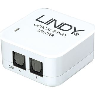 Lindy Audiosplitter Toslink SPDIF Digital 2 Port