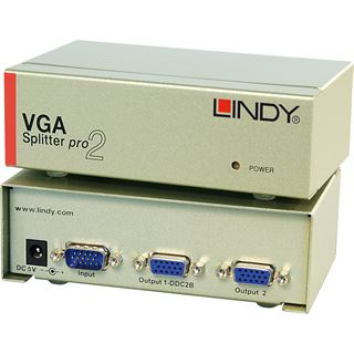 Lindy VGA Splitter PRO 2-Port
