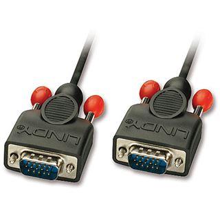 (€2,97*/1m) 3.00m Lindy VGA Anschlusskabel VGA 15pol Stecker auf VGA 15pol Stecker Schwarz doppelt geschirmt