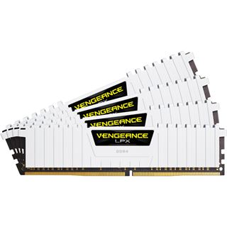 32GB Corsair Vengeance LPX weiß DDR4-2666 DIMM CL16 Quad Kit