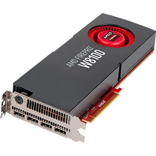 8GB AMD FirePro W8100 Aktiv PCIe 3.0 x16 (Retail)