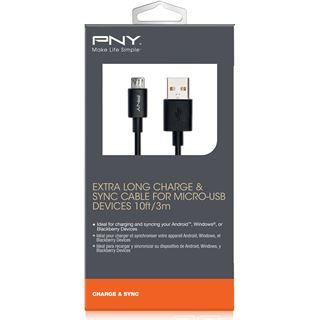 PNY Mikro USB auf USB 3.00m