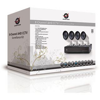 Conceptronic 8 Kanal AHD CCTV SURV KIT