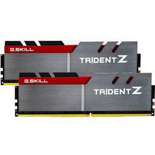 16GB G.Skill Trident Z silber/rot DDR4-3600 DIMM CL15 Dual Kit