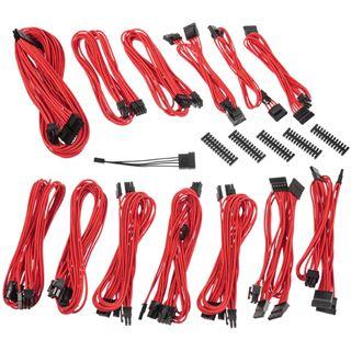 BitFenix Alchemy 2.0 PSU Cable Kit, SSC-Series - rot