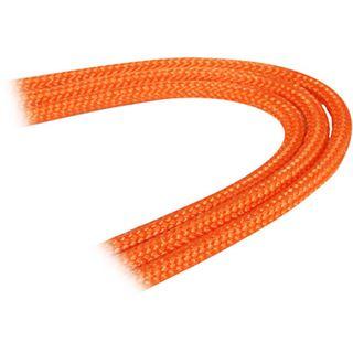 BitFenix 3-Pin Verlängerung 30cm - sleeved orange/schwarz