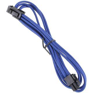 BitFenix 4-Pin ATX12V Verlängerung 45cm - sleeved blau/schwarz