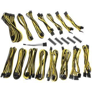 BitFenix Alchemy 2.0 PSU Cable Kit, EVG-Series - schwarz/gelb