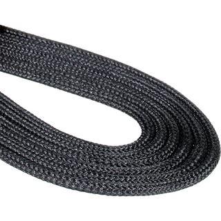 BitFenix 3-Pin Verlängerung 30cm - sleeved schwarz/schwarz