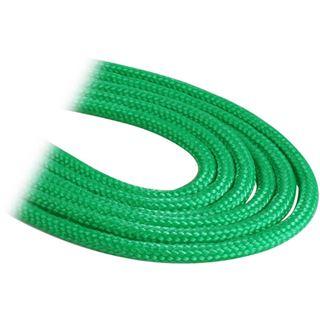 BitFenix 3-Pin Verlängerung 30cm - sleeved grün/schwarz