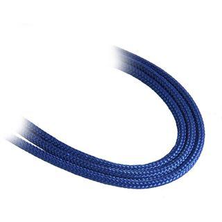 BitFenix 3-Pin Verlängerung 90cm - sleeved blau/blau