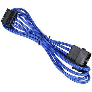 BitFenix Molex Verlängerung 45cm - sleeved blau/schwarz