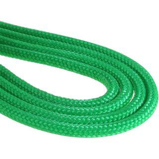 BitFenix Molex Verlängerung 45cm - sleeved grün/schwarz