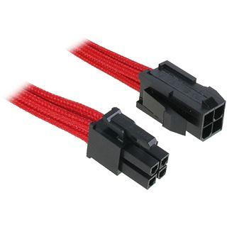 BitFenix 4-Pin ATX12V Verlängerung 45cm - sleeved rot/schwarz