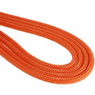 BitFenix 8-Pin EPS12V Verlängerung 45cm - sleeved orange/schwarz