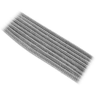BitFenix 8-Pin EPS12V Verlängerung 45cm - sleeved silber/schwarz