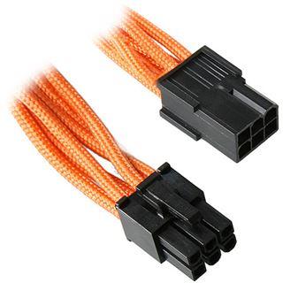 BitFenix 6-Pin PCIe Verlängerung 45cm - sleeved orange/schwarz