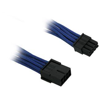 BitFenix 8-Pin PCIe Verlängerung 45cm - sleeved blau/schwarz