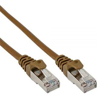 (€7,80*/1m) 0.50m InLine Cat. 5e Patchkabel SF/UTP RJ45 Stecker auf RJ45 Stecker Pink