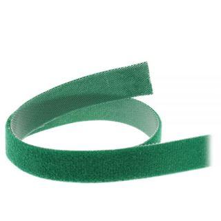 InLine Kabelbinder, Klettverschlussband 16mm, grün, 10m