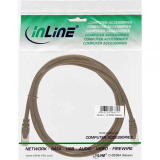 (€0,45*/1m) 20.00m InLine Cat. 5e Patchkabel SF/UTP RJ45 Stecker auf RJ45 Stecker Pink