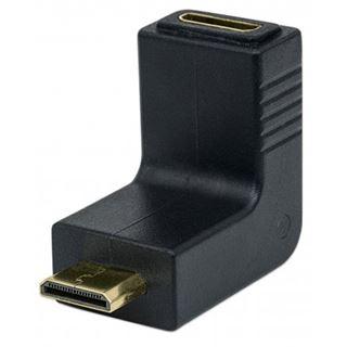 HDMI Manhattan Adapter mini A -> mini A Bu/St 90ø oben