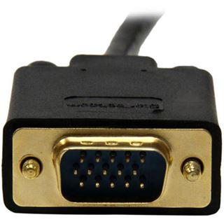 (€11,63*/1m) 3.00m Startech Adapterkabel VGA 15pol Stecker auf USB A Stecker Schwarz vergoldet