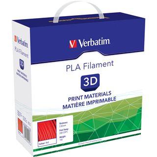 Verbatim Filament 3D Drucker 2.85mm 1kg rot