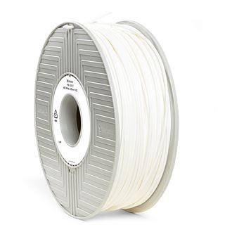 Verbatim Filament 3D Drucker 2.85mm 1kg ABS weiß