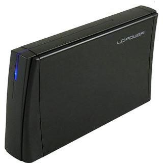"""LC-Power LC-35U3 Acrux 3.5"""" (8,89cm) USB 3.0 schwarz"""