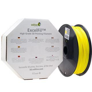 Voltivo ExcelFil 3D Druck Filament, ABS, 1,75mm - gelb